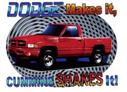 Dodge Makes It Cummins Shakes It